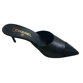 Chanel-Mules-Noir