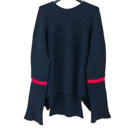 Céline-Pull oversized-Bleu Marine