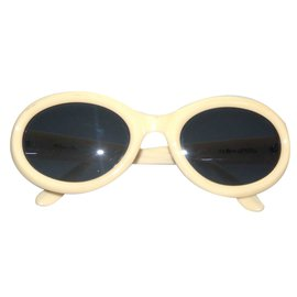 Christian Dior-Sunglasses-Beige