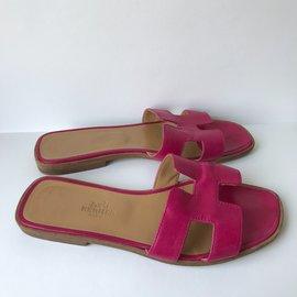 Hermès-Oran-Pink,Beige