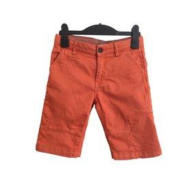 Autre Marque-Short garçon-Orange