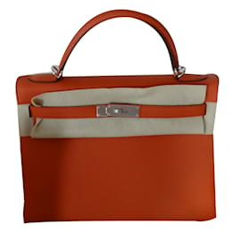 Hermès-KELLY II-Orange