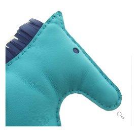 Hermès-Bijoux de sac Rodeo-Bleu
