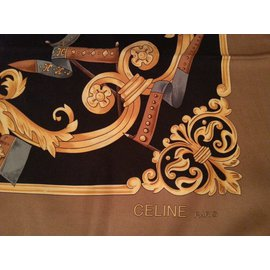 Céline-Silk scarf-Multiple colors