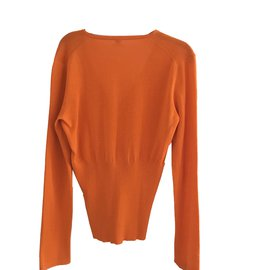 Hermès-Knitwear-Orange