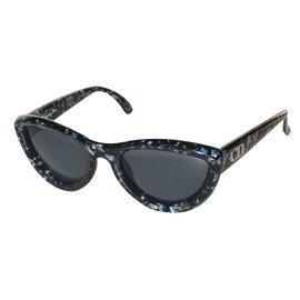 c9ff5b95ca4fc6 ... Christian Dior-Lunettes-Noir,Bleu