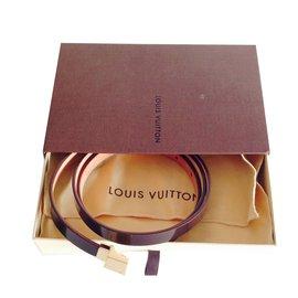 Louis Vuitton-Ceinture-Marron foncé