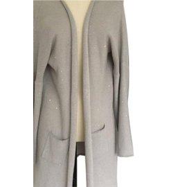Fabiana Filippi-Knitwear-Grey
