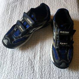 Geox-Baskets enfant-Bleu