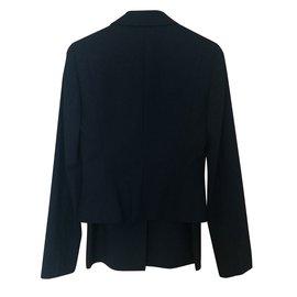 Hugo Boss-Dark Brown Skirt Suit-Brown,Dark brown