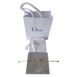 Dior-Bracelet neuf-Doré