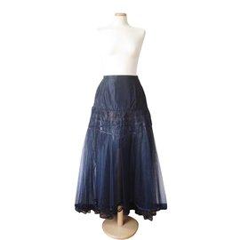 Chanel-Runway Skirt-Black
