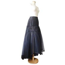 Chanel-Jupe Runway-Noir