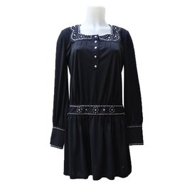 Anna Sui-Dress-Black