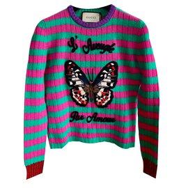 Gucci-Pull-Multicolore