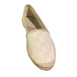 Gucci-Espadrilles-Blanc
