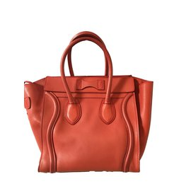 Céline-Luggage-Rouge