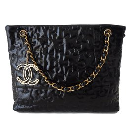 Chanel-Sac Shopping-Noir