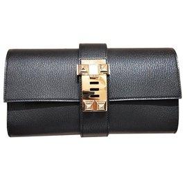 Hermès-Pochette Medor-Noir