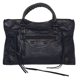 Balenciaga-Sac City-Bleu