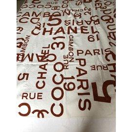 Chanel-Drap de bain-Blanc