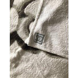 Chanel-Bath towel-White