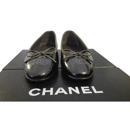 Chanel-Ballerinas-Green