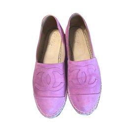 Chanel-Espadrilles-Violet