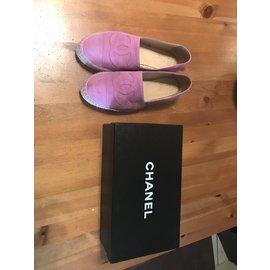 Chanel-Espadrilles-Purple