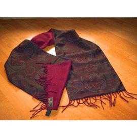 Ermenegildo Zegna-Men Scarves-Multiple colors,Prune
