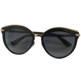 Dior-Lunettes de soleil-Marron,Noir,Doré ... 9ab26f4d32ee