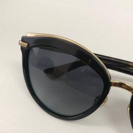 ... Dior-Lunettes de soleil-Marron,Noir,Doré 081ef0e40466
