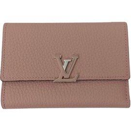 Louis Vuitton-Portefeuille Capucines-Rose