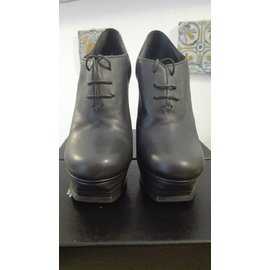 Yves Saint Laurent-Bottines-Gris