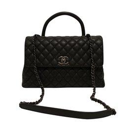 Chanel-Coco black caviar-Noir