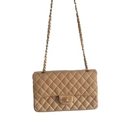 Chanel-2.55 classic double flap-Beige