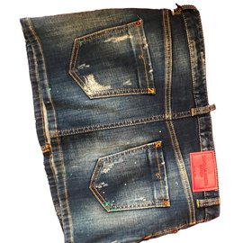 Dsquared2-Jeans-Blue