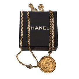 Chanel-Sautoir Vintage-Doré