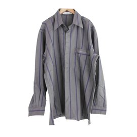 Pierre Balmain-Men's Button Down Shirt-Purple,Dark grey