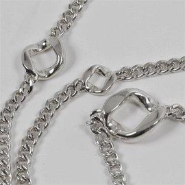 Hermès-Agora Long necklaces-Silvery