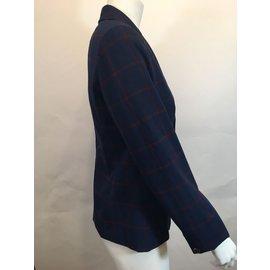 Tommy Hilfiger-Tailleur pantalon-Rouge,Bleu Marine