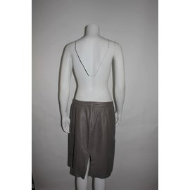 Zapa-Skirt-Brown,Taupe