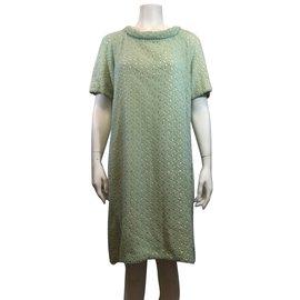 Diane Von Furstenberg-Dress-Green