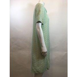 Diane Von Furstenberg-Robe-Vert