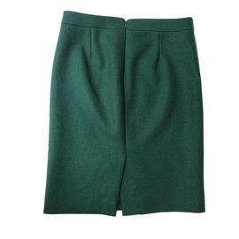 J.Crew-Skirt-Green