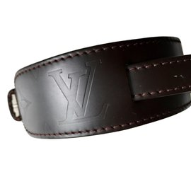 Louis Vuitton-Bracelet-Marron foncé