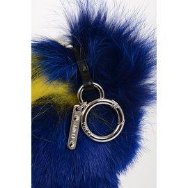 Fendi-Bijoux de sac-Bleu