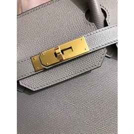 Hermès-Birkin 30-Grey