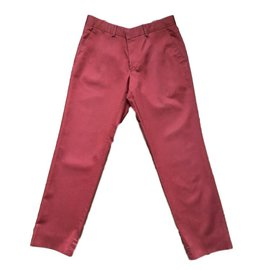 Hermès-Pants, leggings-Red