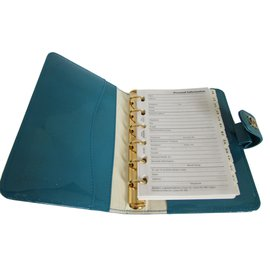 Chanel-Note book-Bleu,Vert